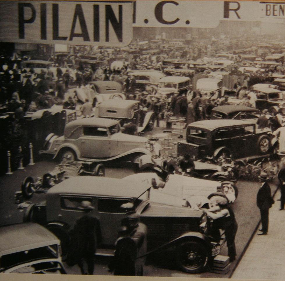 Le salon de l 39 automobile paris 1931 for Salon ce paris