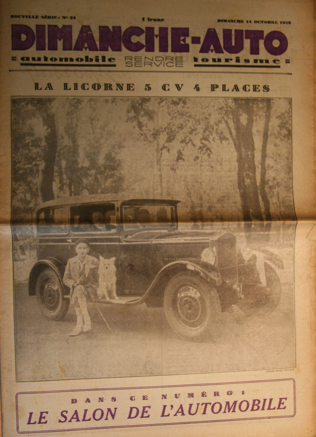 le salon de l 39 automobile paris 1928. Black Bedroom Furniture Sets. Home Design Ideas